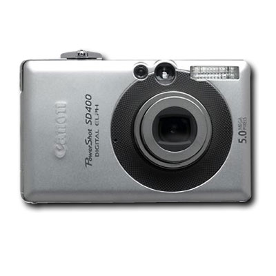 Canon PowerShot SD400 5.0MP Digital Elph Camera