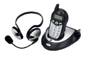 GE 27977GE3 2.4GHZ CORDLESS HEADSET TELEPHONE